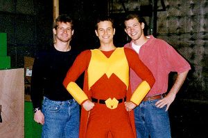 Matthew Berry, Eric Abrams and Kirk Cameron