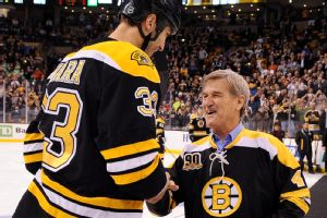 Zdeno Chara and Bobby Orr