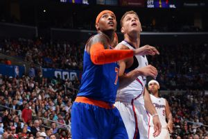 Carmelo Anthony and Blake Griffin