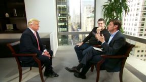 Mike and Mike with Donald Trump
