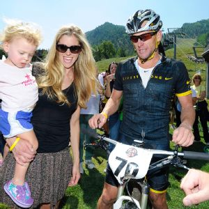 Anna Hansen Armstrong and Lance Armstrong