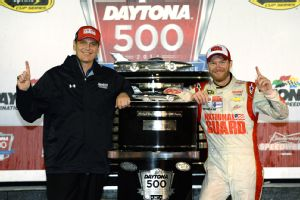 Steve Letarte and Dale Earnhardt Jr.
