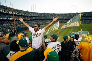 Oakland Athletics fans