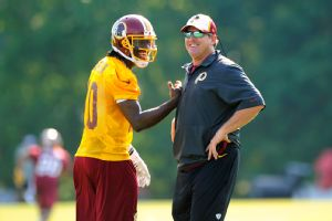 Robert Griffin III and Jay Gruden