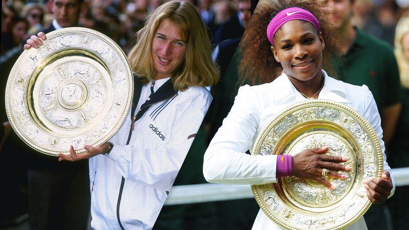 Serena Williams igualó el récord de Steffi Graf y ahora va por Margaret Court