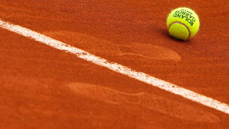 Roland Garros Clay Court. Not really clay