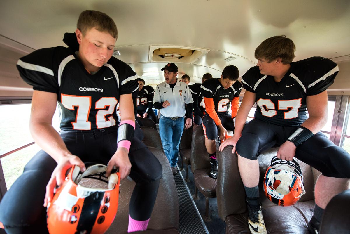 Cody-Kilgore High School in Cody, Nebraska, where six-man ...