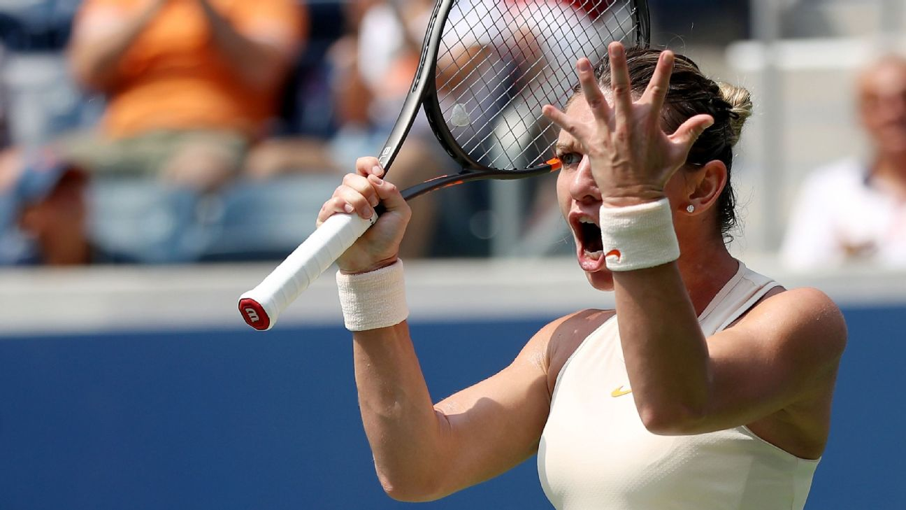 Simona Halep was a shock first-round exit at the 2018 US Open.