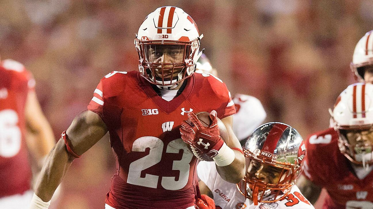 Jonathan Taylor carries Wisconsin to two tournament wins.