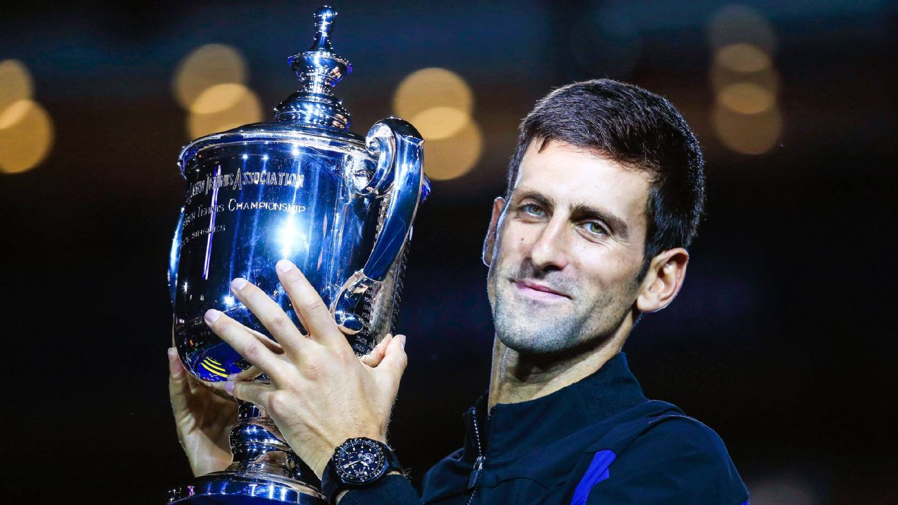 Novak Djokovic and Simona Halep were named the 2018 World Champions by the International Tennis Federation on Thursday after each won Grand Slam titles and finished the year atop the world rankings.