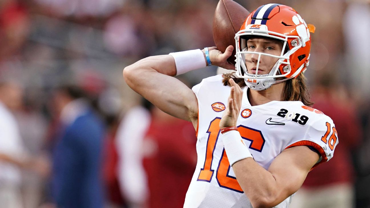Trevor Lawrence takes his star turn, Tua Tagovailoa will be looking for revenge and Jalen Hurts takes over for two straight Heisman transfers at Oklahoma. And that's just the beginning.