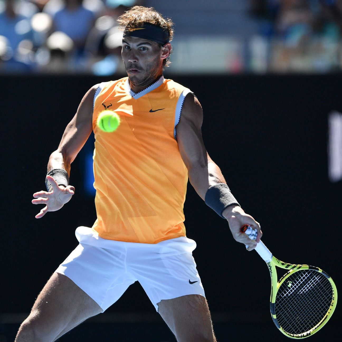 Rafael Nadal again got the best of Tomas Berdych and advanced to the quarterfinals of the Australian Open on Sunday. He'll face Frances Tiafoe, who celebrated his 21st birthday by beating Grigor Dimitrov.