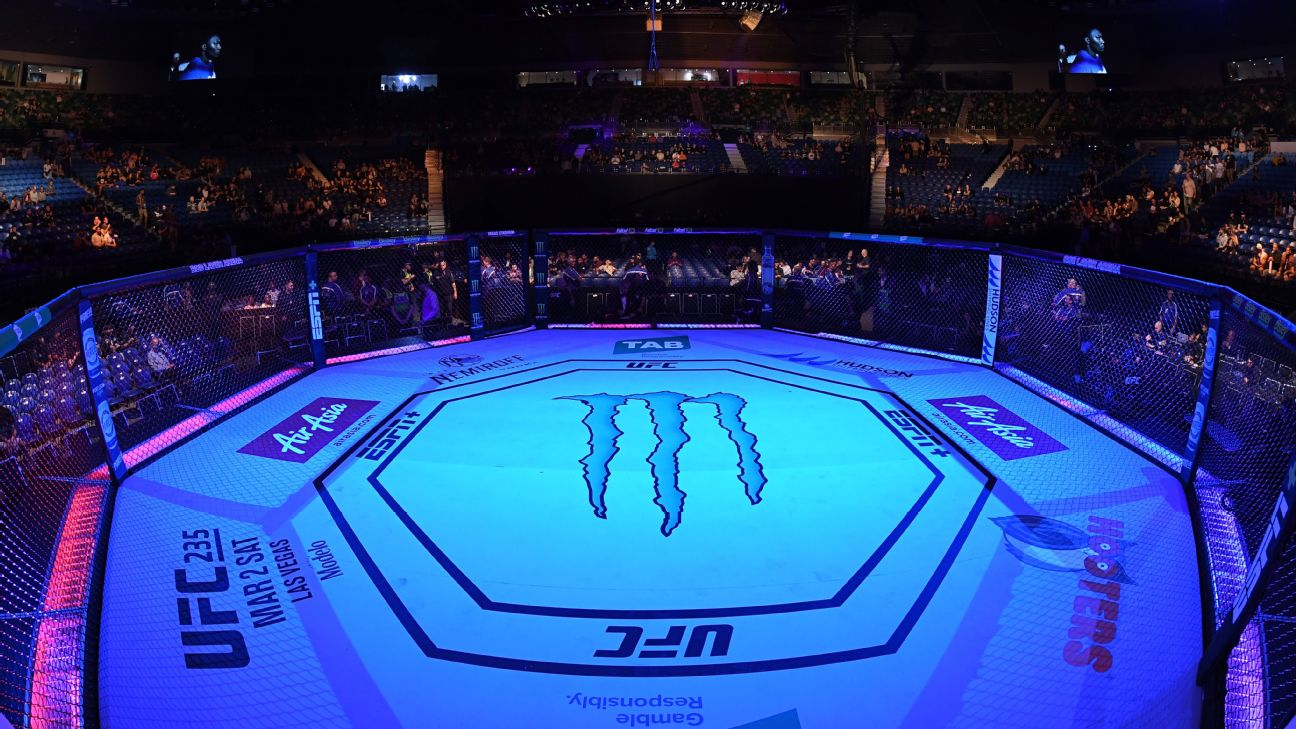 ESPN and the UFC have announced that ESPN+ will be the exclusive home for the promotion's pay-per-view events in the U.S., a deal that runs through 2025.
