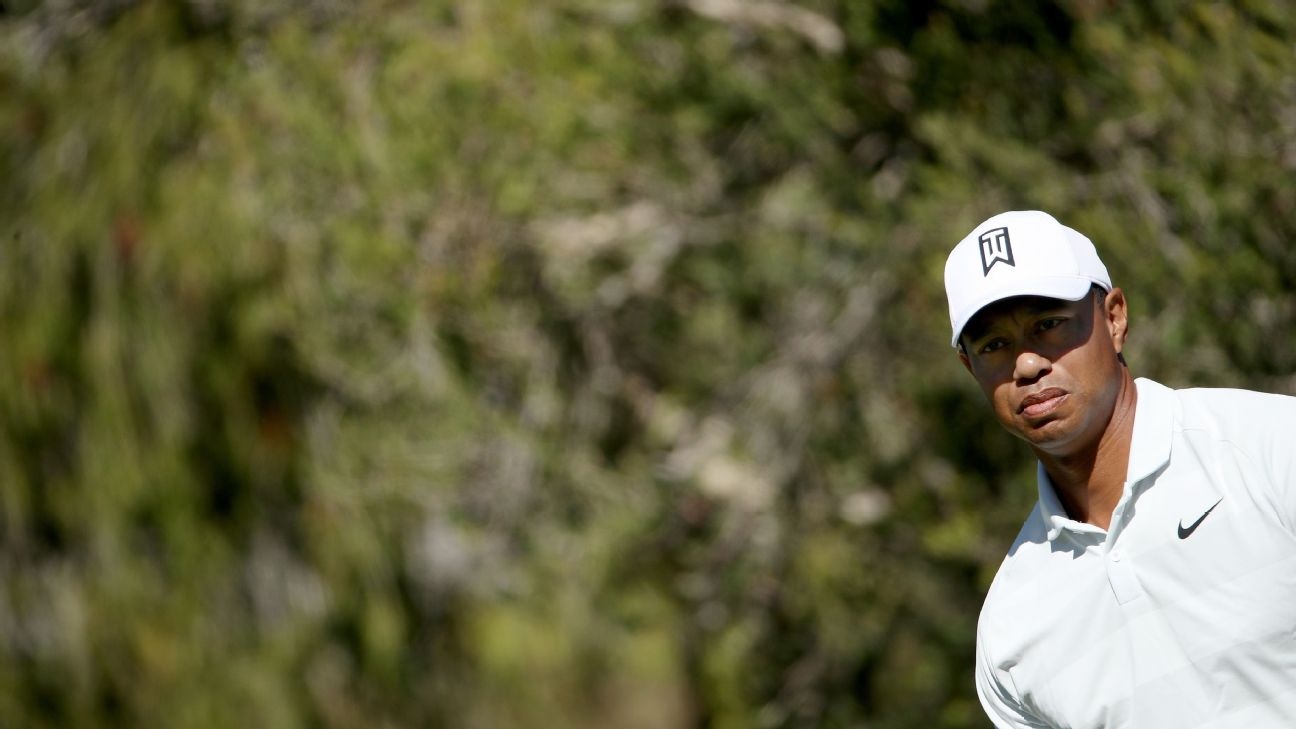 Tiger Woods grew up near Riviera Country Club.