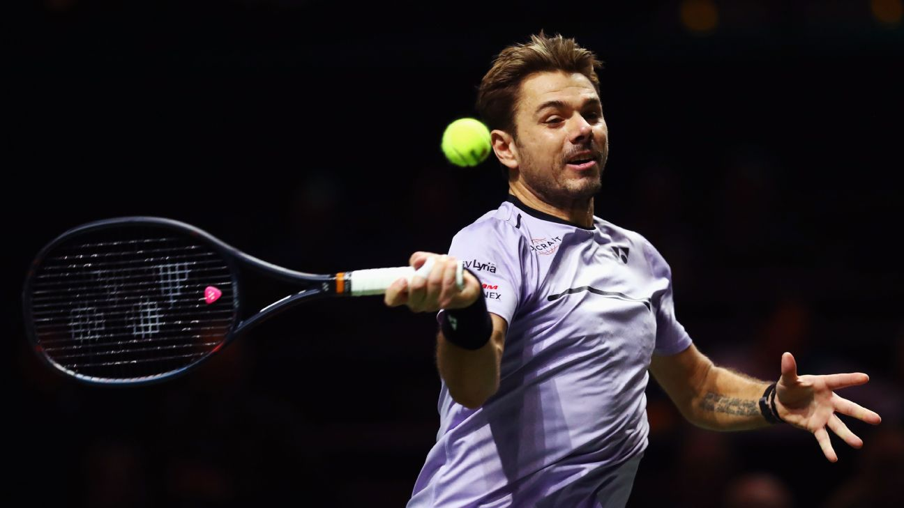 Stan Wawrinka recovered from a sluggish start to beat Frenchman Benoit Paire 7-6 (4), 6-1 in the opening round of the ABN AMRO World Tennis Tournament in Rotterdam on Monday.