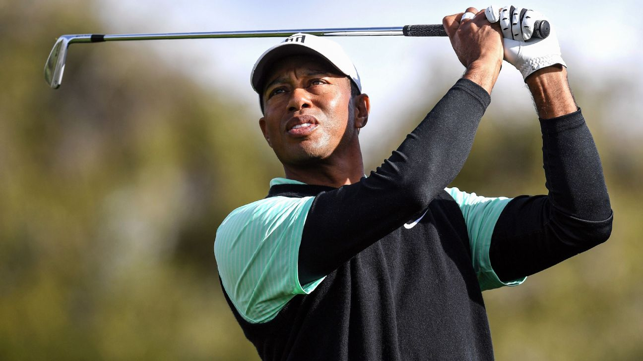 Tiger Woods finished 30 holes on a rainy day at Riviera Country Club with mixed results Friday. Woods is in a tie for 55th place at 1 under, and will likely see himself battling to make the 36-hole cut at the Genesis Open.