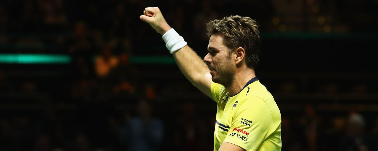 Stan Wawrinka is a former champion in Rotterdam having won the tournament in 2015.
