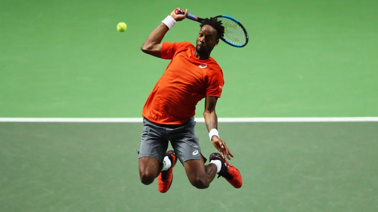 Gael Monfils resisted a second-set fightback from Stan Wawrinka to win the Rotterdam Open 6-3, 1-6, 6-2 on Saturday and lift his second ATP title of 2019.