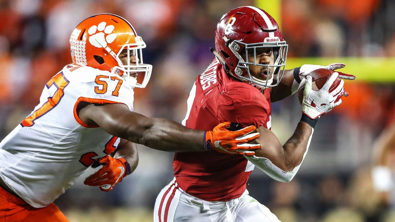 No surprise to see Clemson and Alabama at the top of the field again for our hypothetical, 64-team college football tournament. Mark J. Rebilas/USA TODAY Sports
