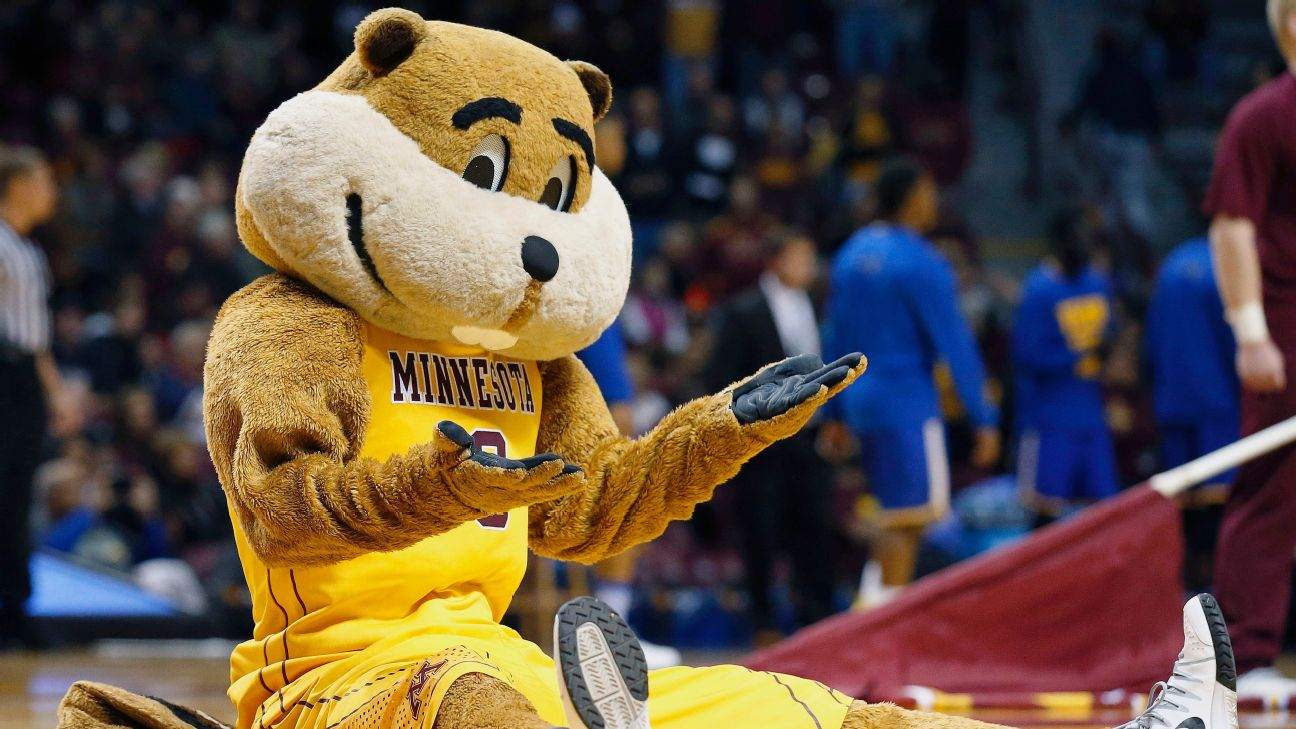 Minnesota's 22-year Sweet 16 drought has Goldy the Gopher at a loss for words.
