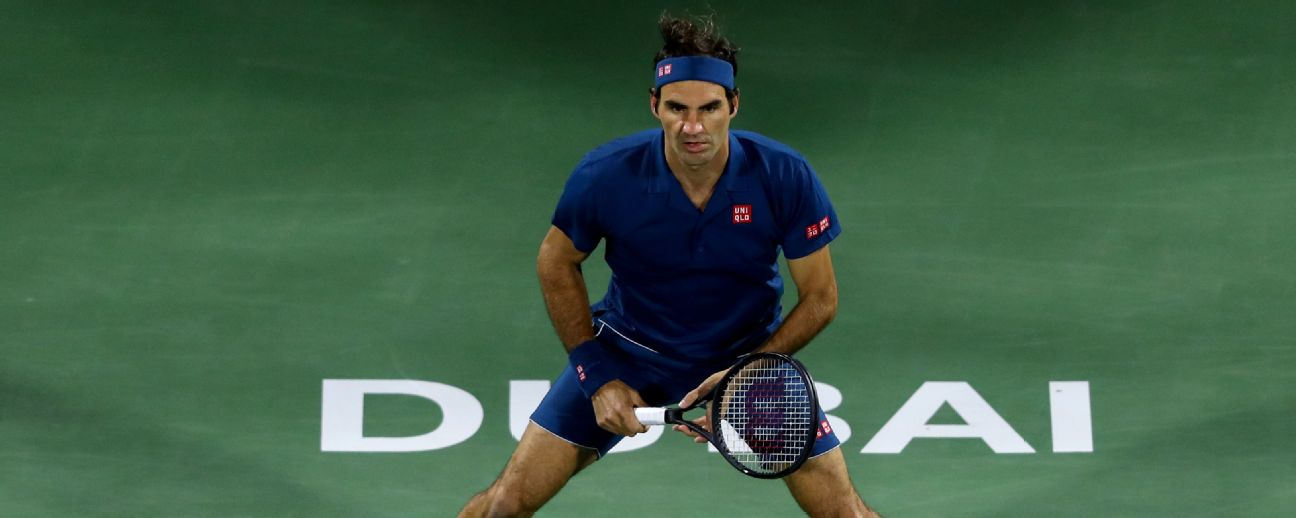 Roger Federer claims his 100th singles title at Dubai.