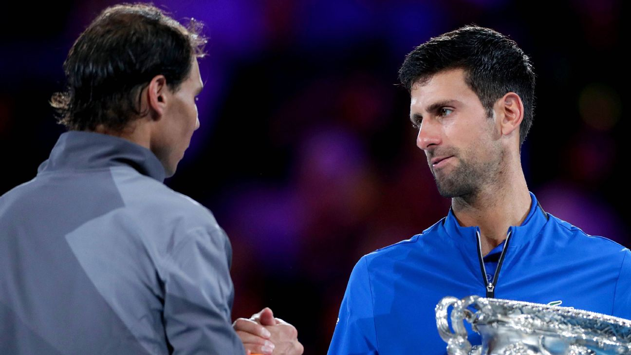 With Novak Djokovic returning to form, Roger Federer and Rafael Nadal face a daunting task halting the world's No. 1 player in the California desert.
