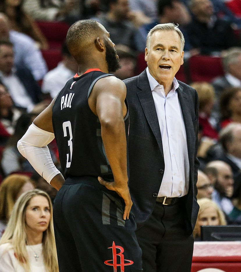 Rockets coach Mike D'Antoni isn't worried about Chris Paul losing a step as he enters his mid-30s.