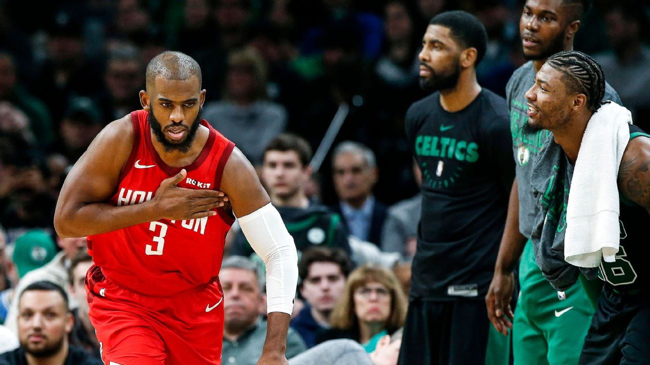 Chris Paul is looking like Chris Paul again as Houston soars up the Western Conference standings. Right now, that's all that matters to the Rockets.