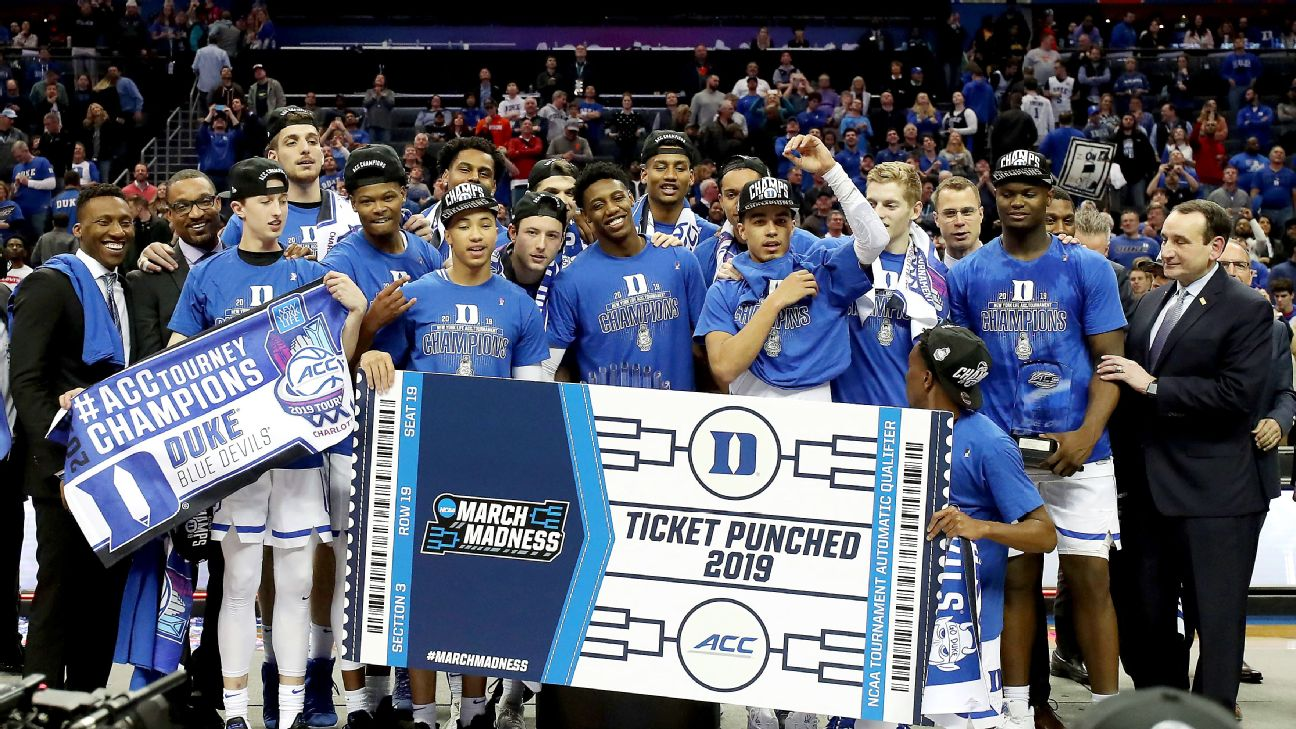Duke is the heaviest favorite entering the NCAA tournament since the 2014-15 Kentucky Wildcats, who arrived at the Big Dance undefeated but lost in the Final Four.