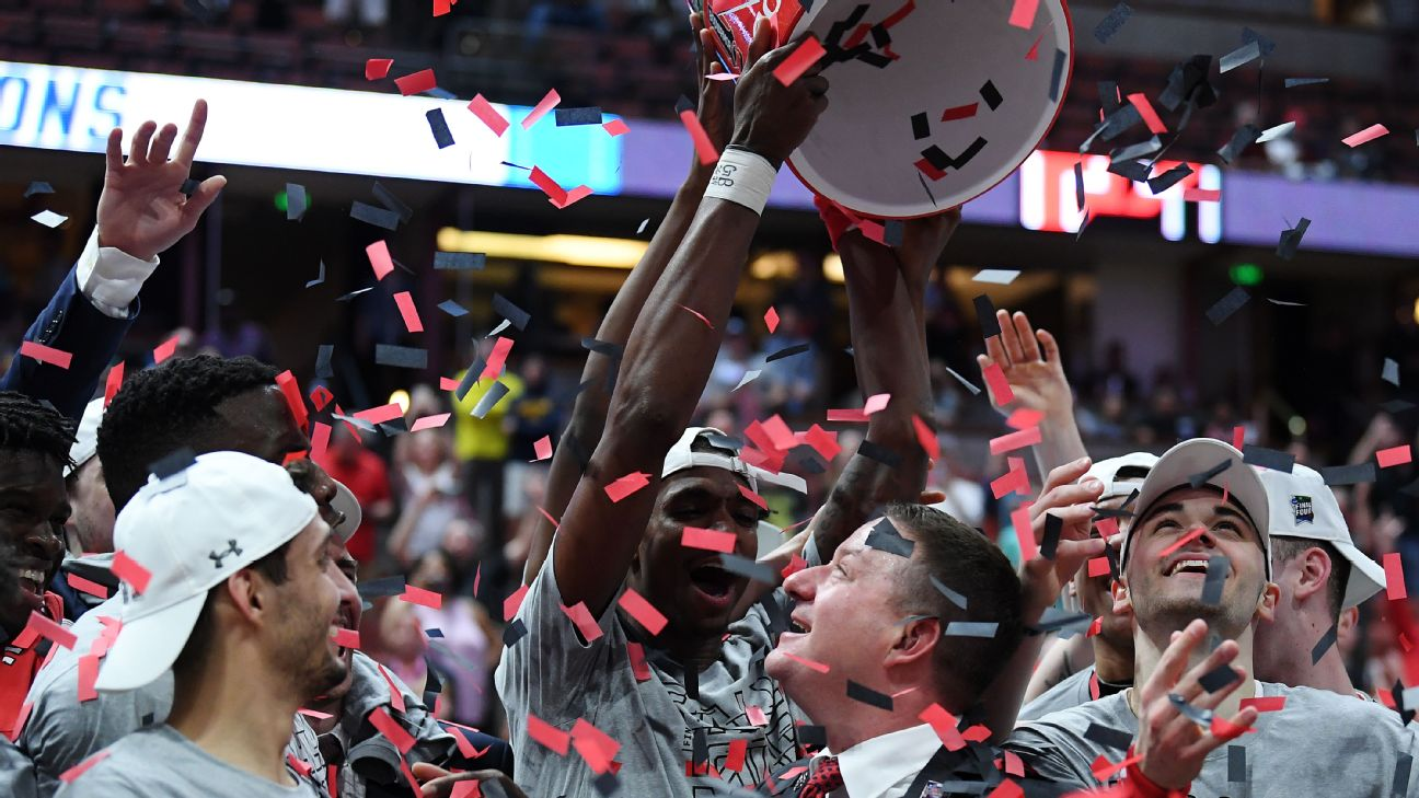 10.3 percent of brackets in ESPN's Tournament Challenge had Texas Tech in the Final Four.