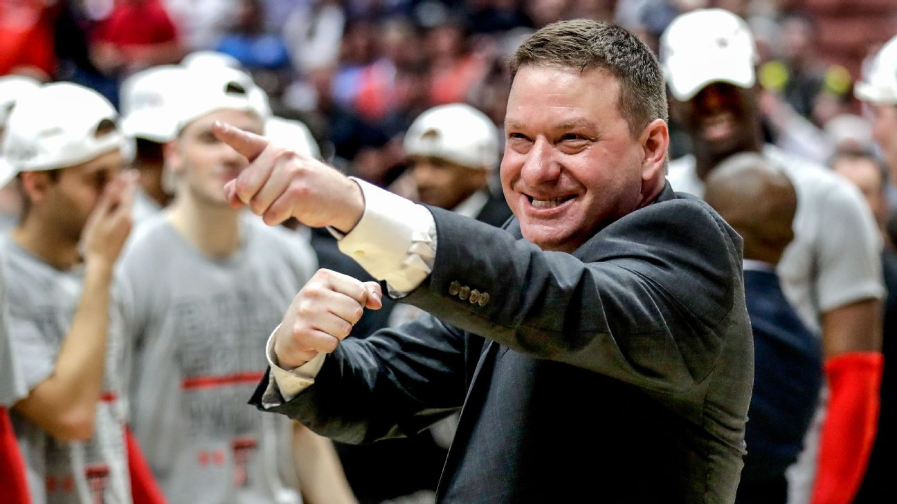 The Texas Tech coach has advanced the Red Raiders to the national semifinals, after a career that has followed a circuitous route.
