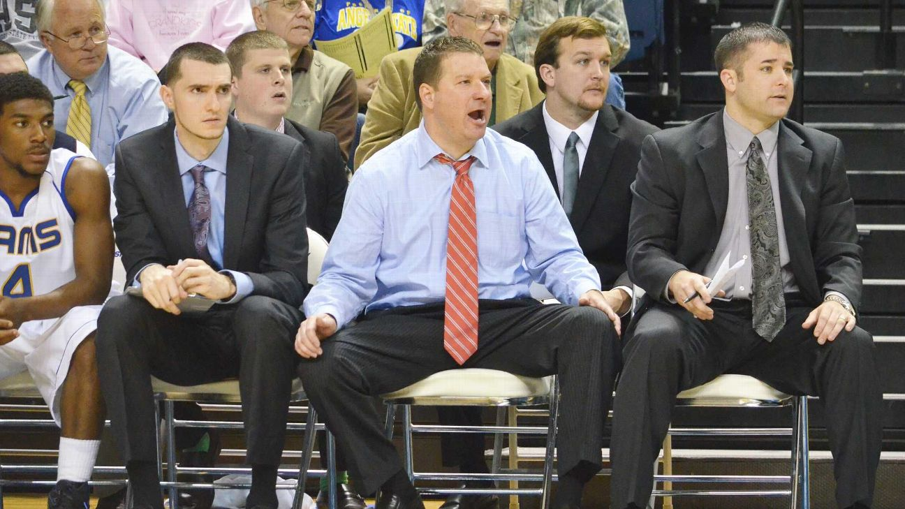 Chris Beard was 47-15 in two seasons at Division II Angelo State.