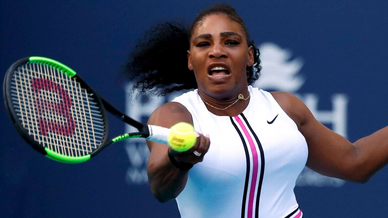 Serena Williams has a career record of 166-34 on clay but has only played three tournaments so far this year and and has faced injury or illness in all three. JASON SZENES/EPA-EFE/REX/Shutterstock