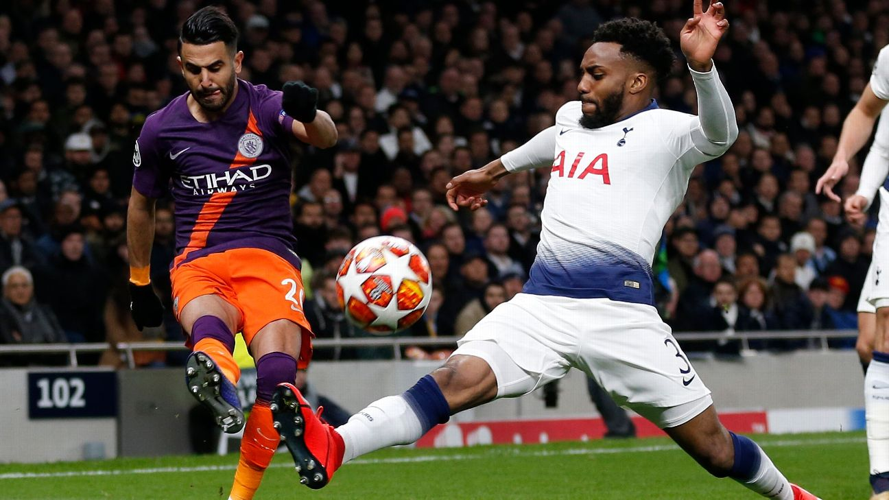 Spurs edged a tight opening leg at the new Tottenham Hotspur Stadium.