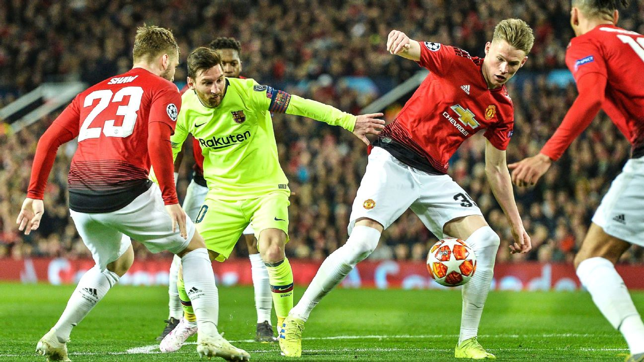 Can Manchester United come back to upset Barcelona?