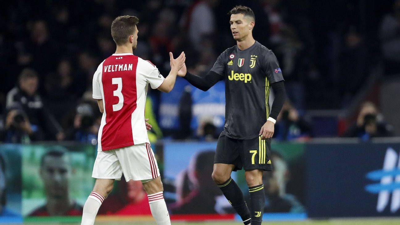 Ajax managed to keep Cristiano Ronaldo to just a single goal in last week's first leg.