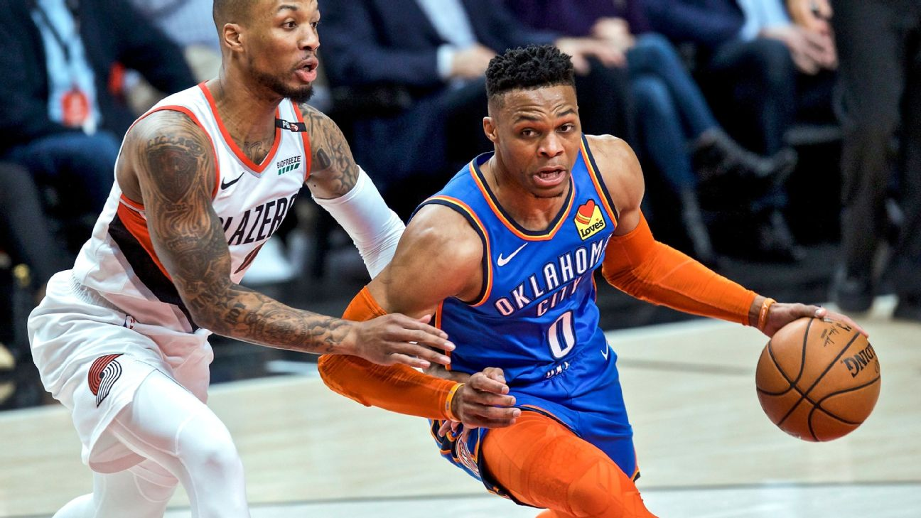 Down 2-0 to Portland, OKC could use a big game from Russell Westbrook, triple-double or not.