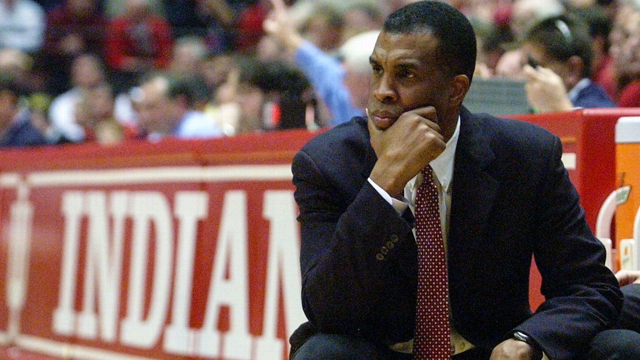 Indiana's only Final Four appearance of the past 27 seasons was presided over by Mike Davis.