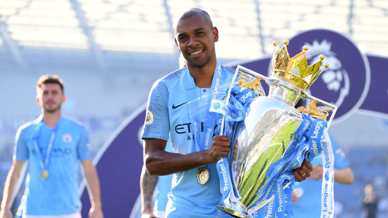 Fernandinho proved to be indispensable in the heart of Man City's midfield. Despite an array of high-priced stars, the mercurial Brazilian proved most essential to their treble push.