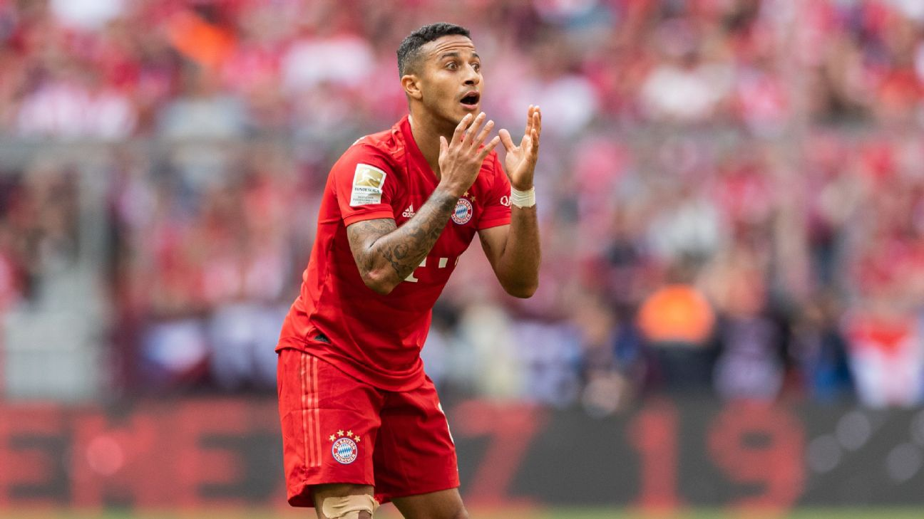 Nobody's better in Germany than Thiago when it comes to linking defense and attack.