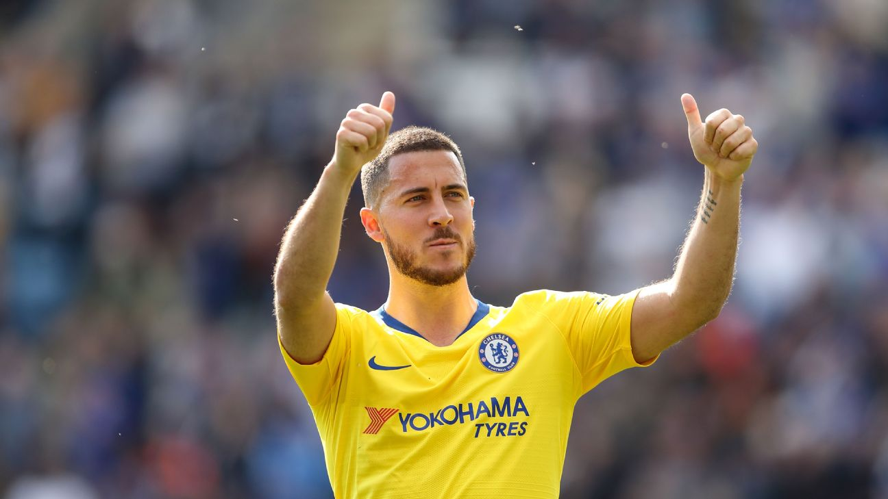 Will Hazard still be a Chelsea player next season? Blues fans better hope so given how integral he's been to everything good they've done under several managers.