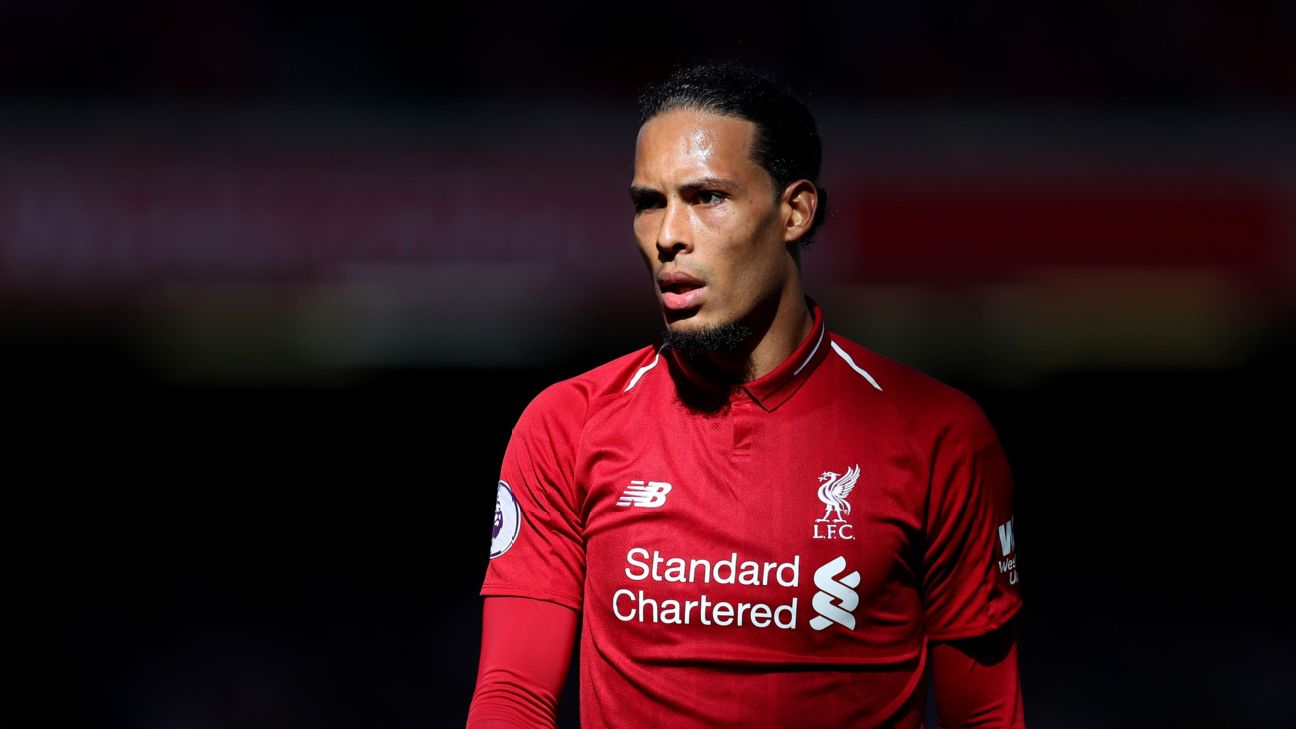 Van Dijk's impact on Liverpool can't be stressed enough. He's the best central defender in almost any situation and without him, the Reds would not have come within a point of the title.