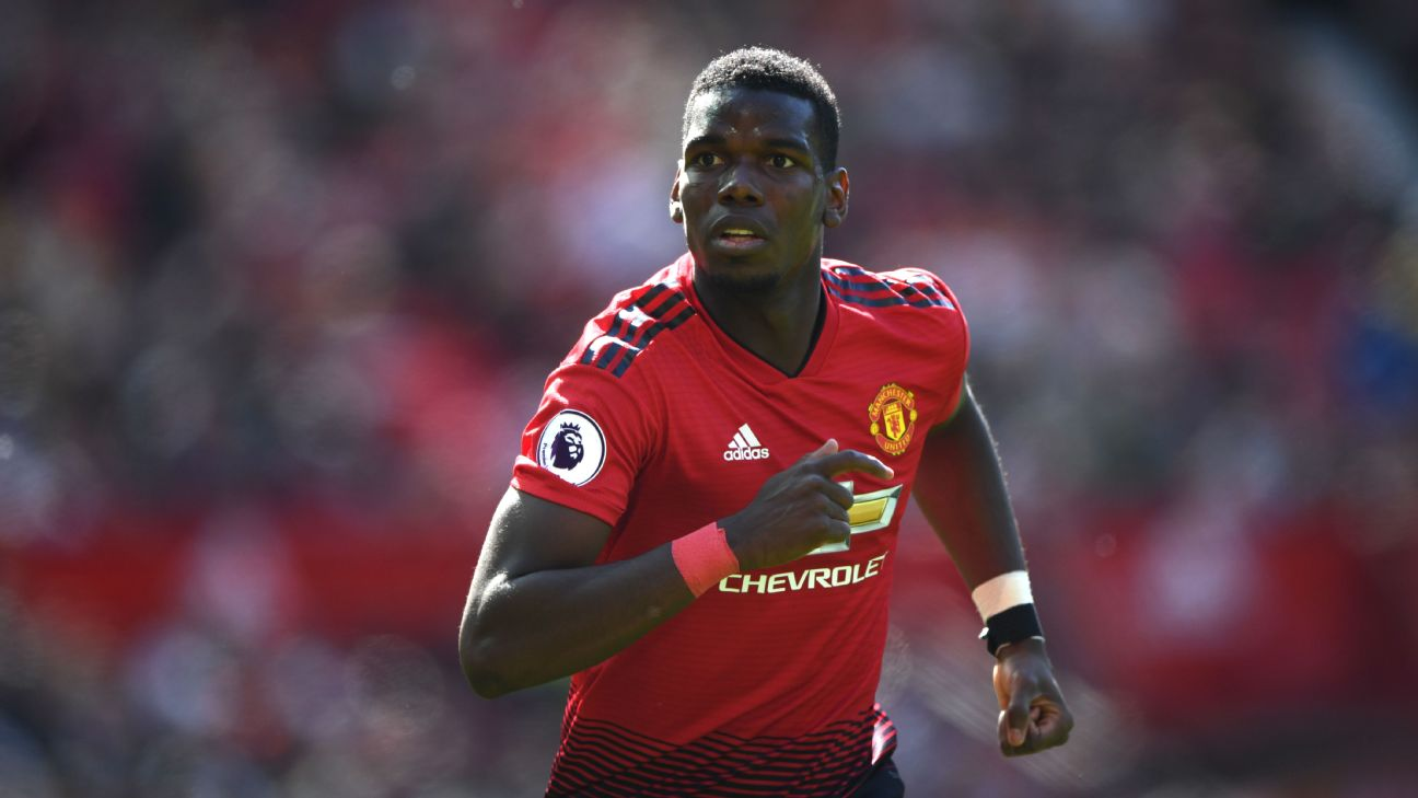 Man United fans aren't too happy with Pogba right now but the evidence is clear that he's the key player in whatever future the club might wish to create. Stu Forster/Getty Images