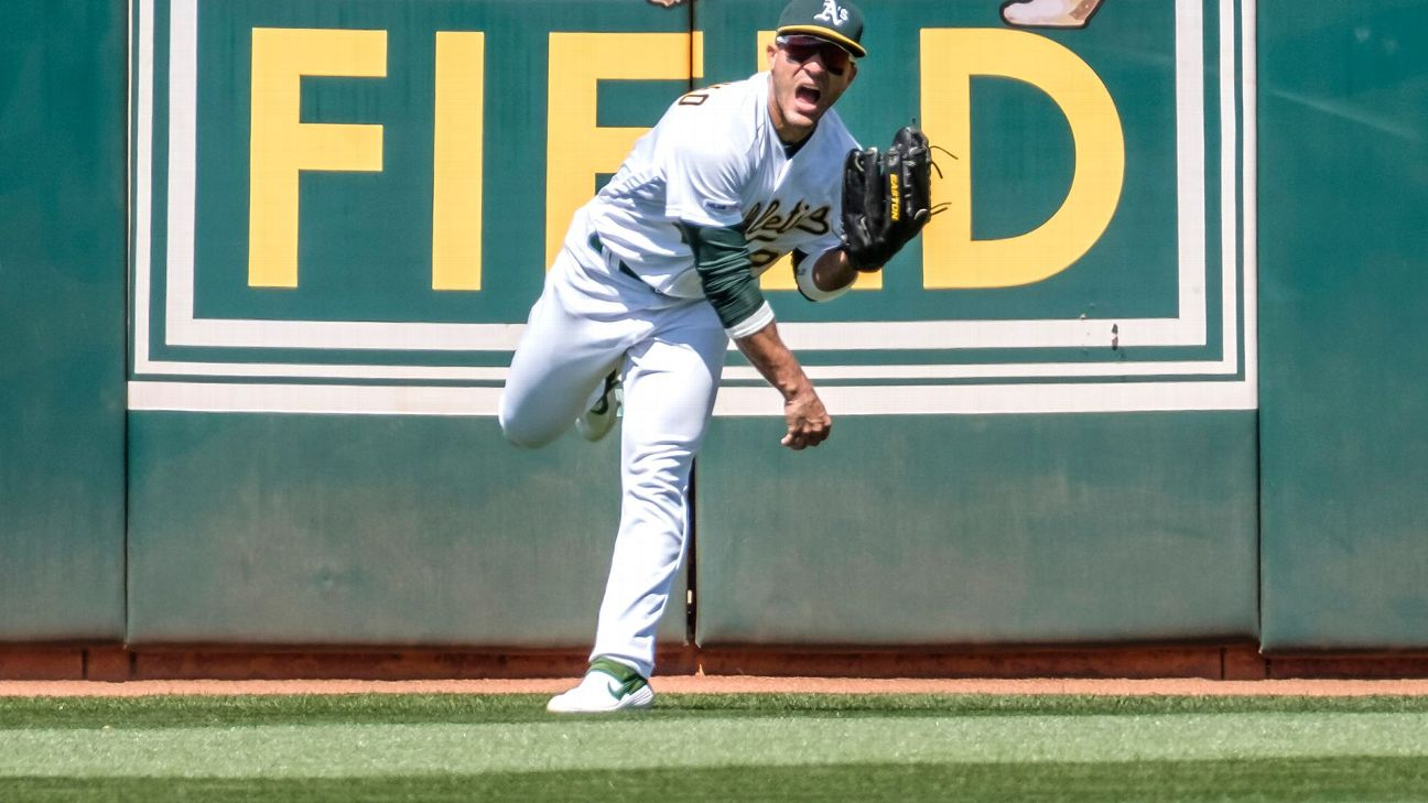 """""""His arm is the stuff fairy tales are made of."""" We asked those who have watched Ramon Laureano develop -- and a few of his victims, too -- to share their stories."""