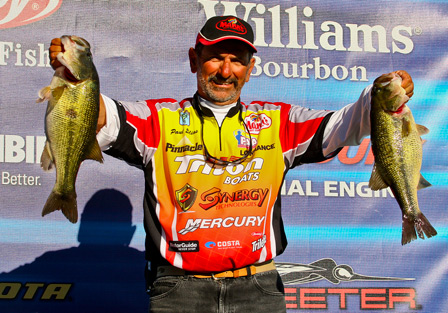Pickwick Lake Alabama Charge  Day One Weigh-in